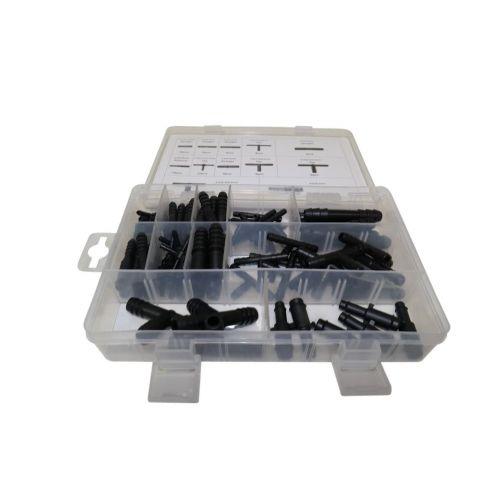 Connectors voor rubber en kunststof slangen 113 stuks Weber