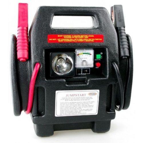 Jumpstarter & compressor met lamp 12 V 900 A 17 Ah