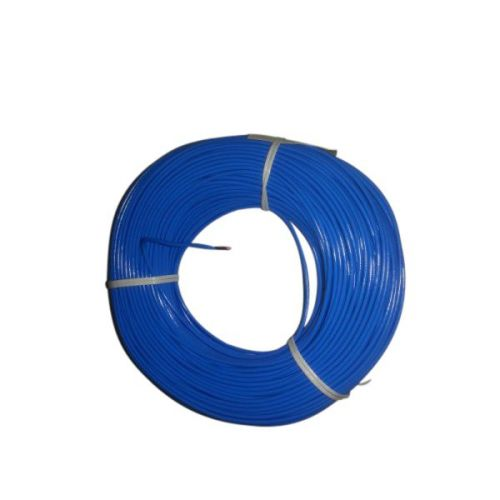 Montagesnoer 1X2,5 blauw per mtr