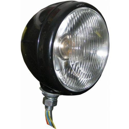 Tractor koplamp 160 mm zwart