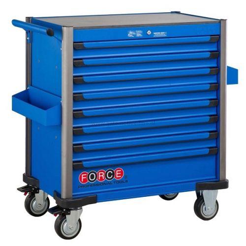 Gereedschapswagen Jumbo blauw 610-delig Force (gratis verzending)