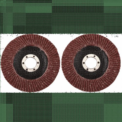 Lamellenschuurschijf 2-delig 125 mm K40 + K80