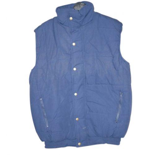 Bodywarmer donker blauw maat L