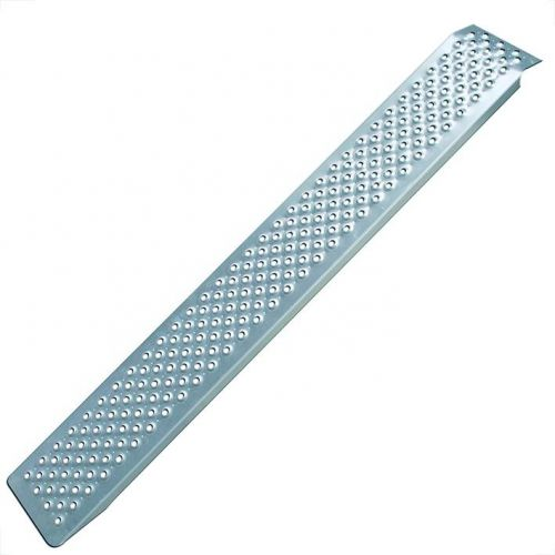 Oprijplank aluminium 200X21 cm