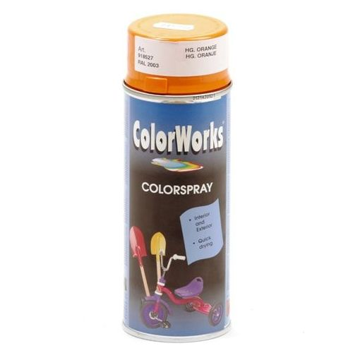 Colorworks RAL2003 oranje 400 ml