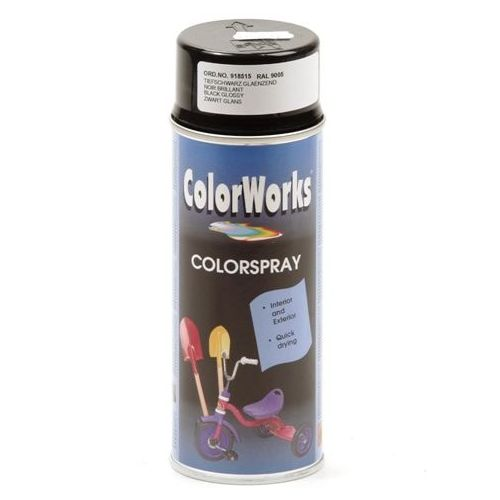 Colorworks RAL9005 HG zwart 400 ml