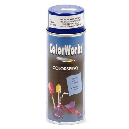 Colorworks RAL5002 royal blauw 400 ml