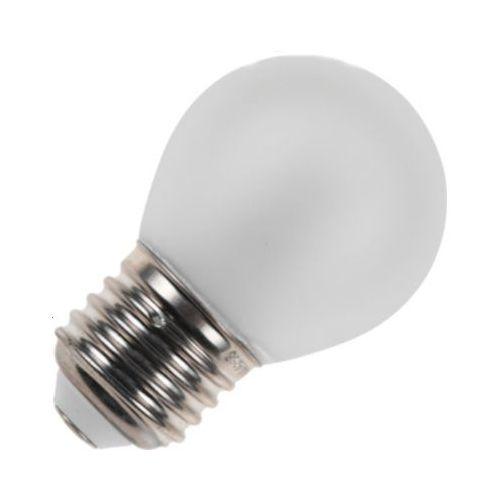 Led Lamp Bol E27 Wit