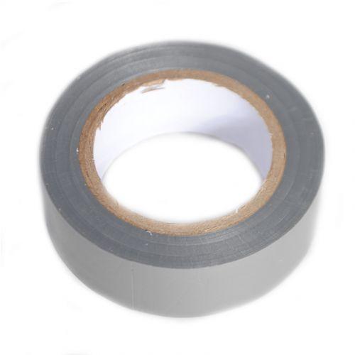 Isolatietape grijs 19 mm x 10 m