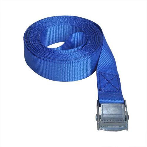 Sjorband 5 meter blauw polyester