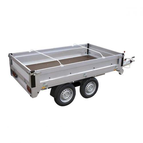 Drager aluminium uitschuifbaar t.b.v. aanhangerzeil