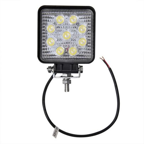 Werklamp led uitvoering 9 Leds 9 t/m 32 volt.