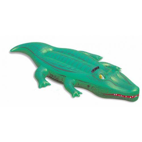 Krokodil opblaasbaar 1,68x0,79 meter