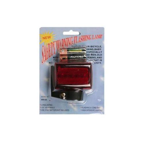 Fietslampje Rood Led Licht Met Batterijen