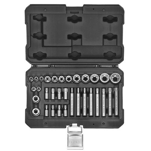 Doppen en bitten set Torx 32-delig Force