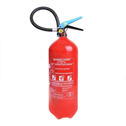Brandblusser 6 liter AB F schuim met manometer