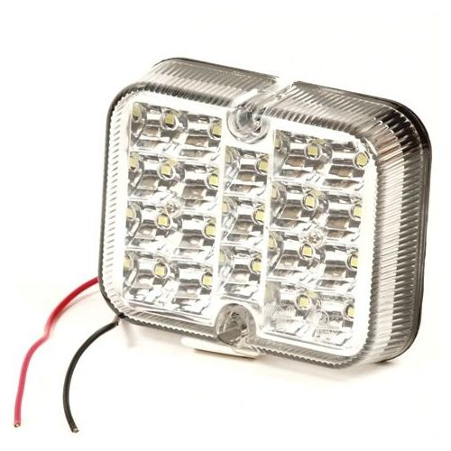 Achteruitrijlamp 15 leds wit 12/24V