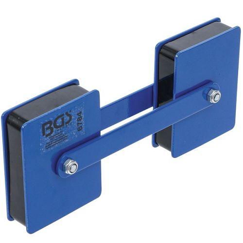 Dubbele magneethouder met variabele hoekinstelling BGS