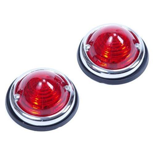 Positielamp 2-delig rood