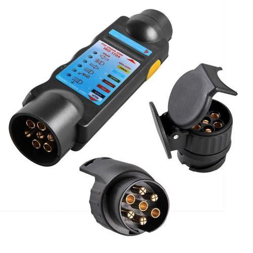 Teststekker voor verlichting met 2 adapters