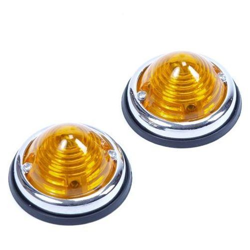 Positielamp 2-delig oranje