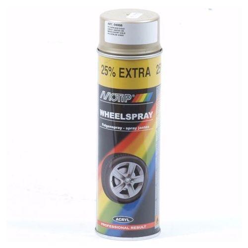 Goud lak (wiel) Motip 500 ml