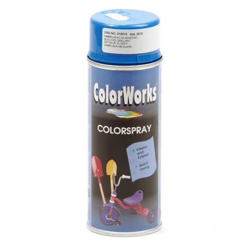 Colorworks RAL5015 sky blauw 400 ml