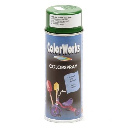Colorworks RAL6002 leaf groen 400 ml