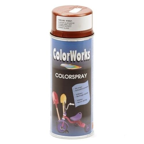 Colorworks koper effect spuitbus 400 ml