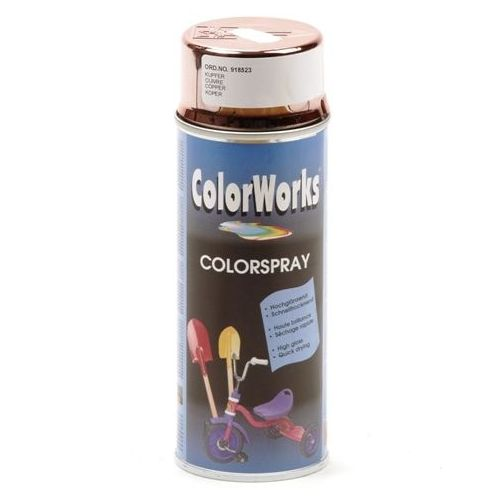 Colorworks licht koper effect spuitbus 400 ml