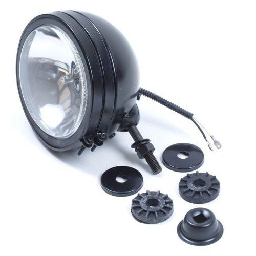 Koplamp / verstraler zwart 150 mm