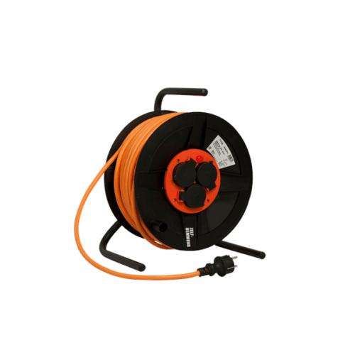 Kabelhaspel BM 300 met RA 3x1,5 kabellengte 50 meter oranje
