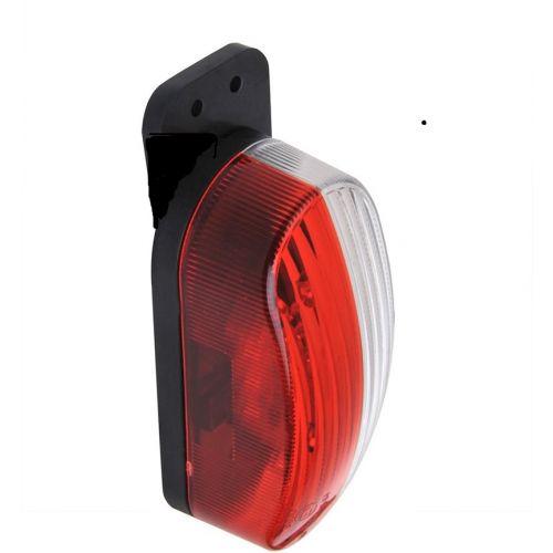 Breedtelamp led rood/wit rechts
