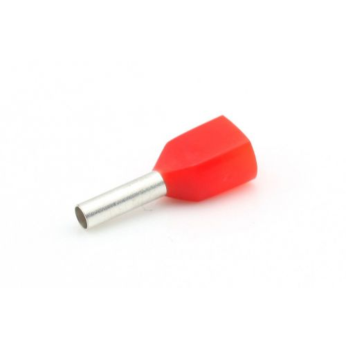 Adereindhuls 1 mm² rood 2-voudig