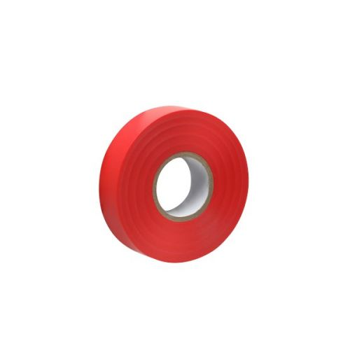 Isolatietape rood 19 mm x 20 m