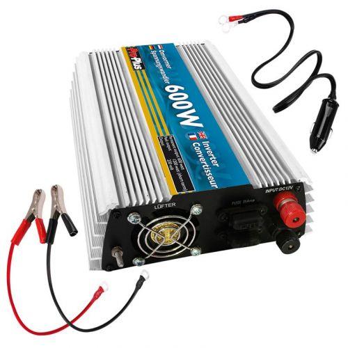Inverter 12V-230V : 600W/1200W