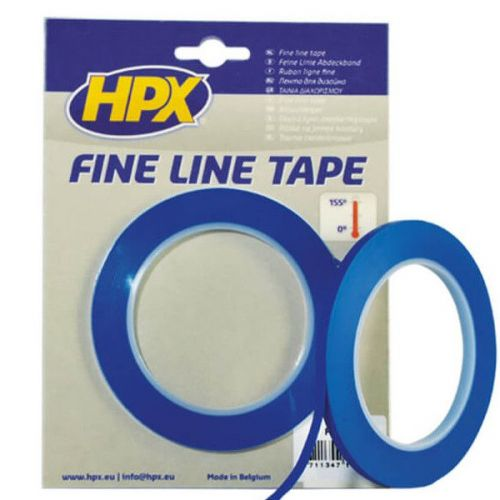 Fine line tape 6 mm x 33 m HPX