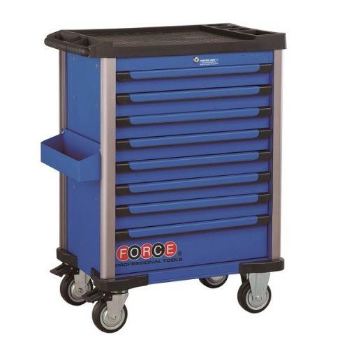 Gereedschapswagen blauw 415-delig Force (gratis verzending)