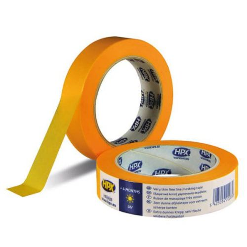 Masking tape 50 mm x 50 m 4400 gold HPX