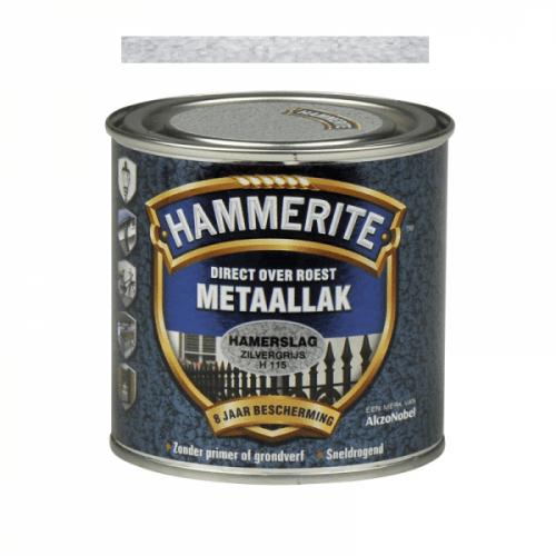 HAMMERITE Hamerslag zilvergrijs H115 250 ml