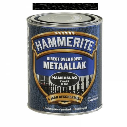 HAMMERITE Hamerslag zwart H160 250 ml