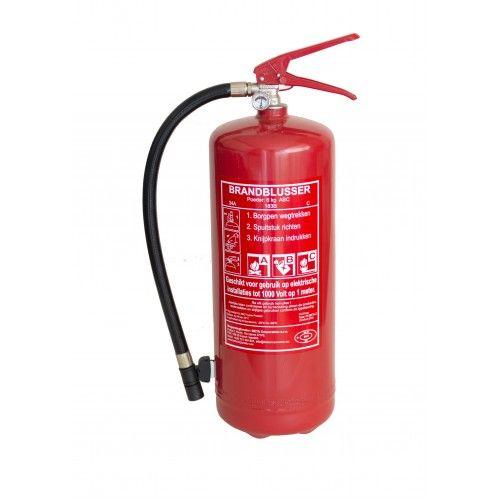 Brandblusser 6 kg ABC met manometer