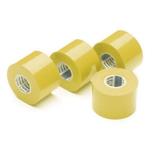 Isolatietape geel 50 mm x 20 m