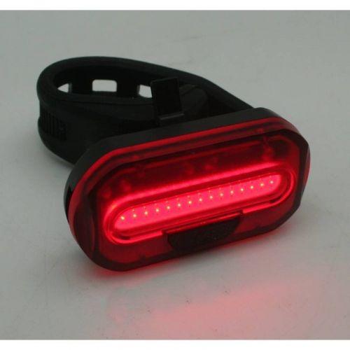 Fietslamp ultra COB LED compact rood