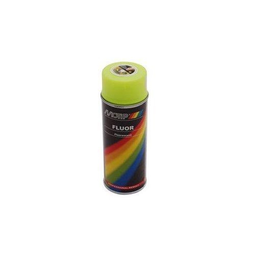 Fluorescerende lak geel Motip 400 ml