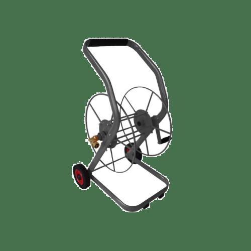 Slangen/Haspelwagen 2 Massieve Wielen/80 Mtr 1/2