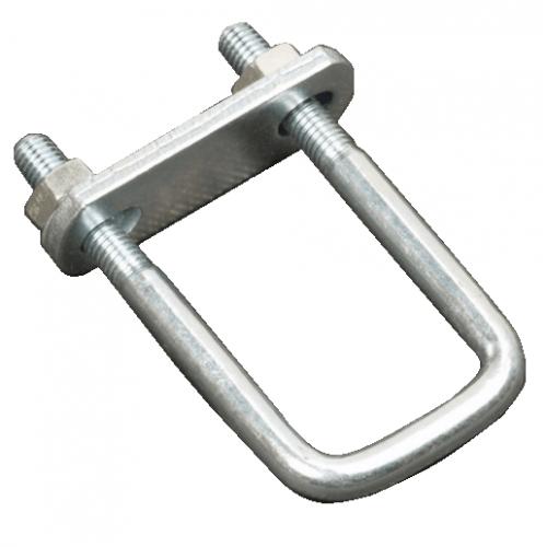 U-Beugel 110x33 M10 met stropplaat