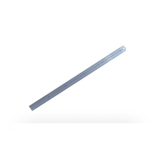 Liniaal 50 cm RVS