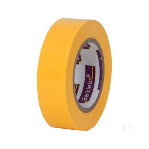 Isolatietape geel 19 mm x 10 m