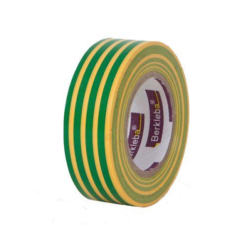 Isolatietape geel/groen 19 mm x 10 m